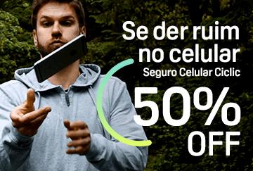 Se der ruim no celular - Seguro Celular Ciclic